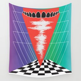 .Teeth Wall Tapestry