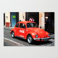 coke Canvas Prints featuring Coke by Chris Root