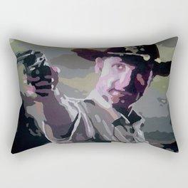 Rick Grimes Rectangular Pillow