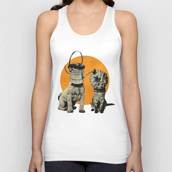 Cats&Dogs Unisex Tank Top