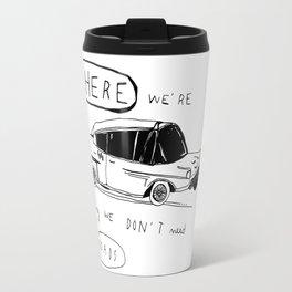 OFF TO BROOKLYN Travel Mug