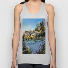 Beyond the church wall. Unisex Tank Top