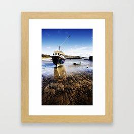Lyme Regis Harbour Framed Art Print