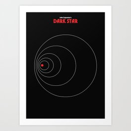 John Carpenter - Dark Star Art Print