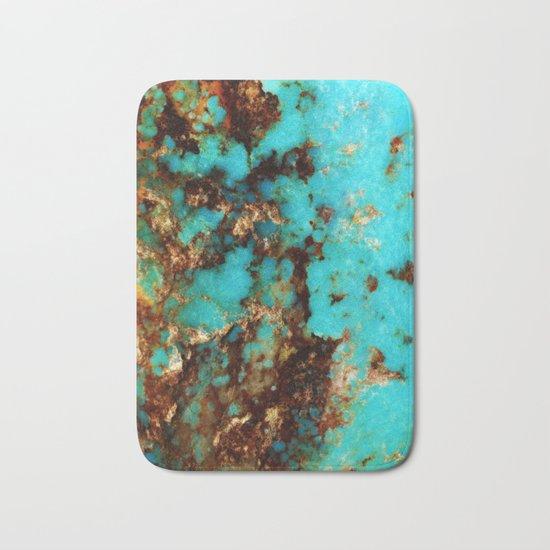 Turquoise I Bath Mat