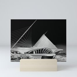 Milwaukee I by CALATRAVA architect Mini Art Print