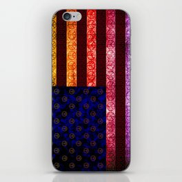 50 SHADES OF PEACE - 079 iPhone Skin