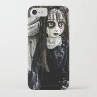 goth iPhone & iPod Cases featuring Goth Girl by Nevermind the Camera