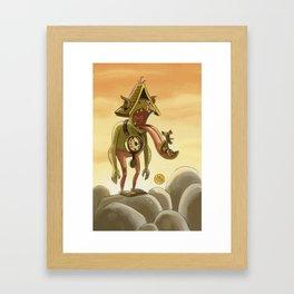 Goblins Drool, Fairies Rule! - Cuckoo Clock Framed Art Print