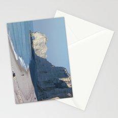 Beach at Etretat, France Stationery Cards