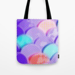 Dotty Scales Tote Bag