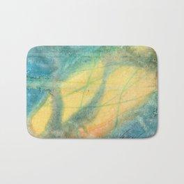 Unity - 22 Watercolor Painting Bath Mat