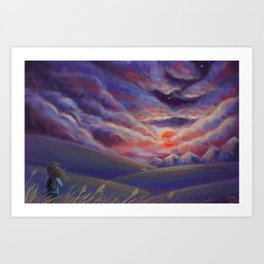 Finding Home Art Print