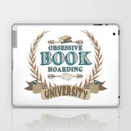 Obsessive Book Hoarding University Laptop & iPad Skin