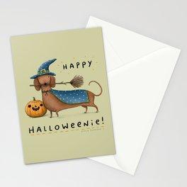 Happy Halloweenie! Stationery Cards