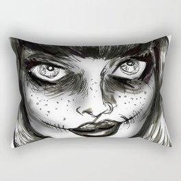 Dark Wave Swells Rectangular Pillow