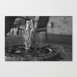 Liquid Falls Canvas Print