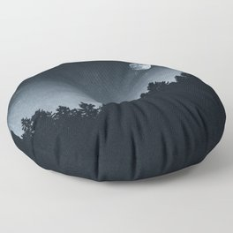 Under Moonlight Floor Pillow