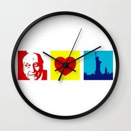 Milton Glaser Loves New York Wall Clock