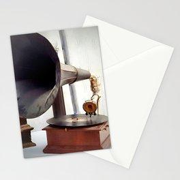 Antique Parisian Jazz Stationery Cards