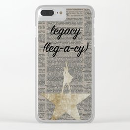 Legacy Clear iPhone Case