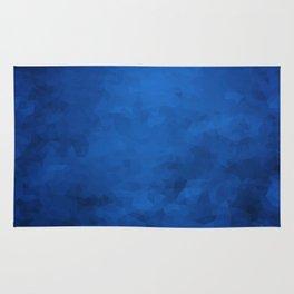 LowPoly Blue Rug