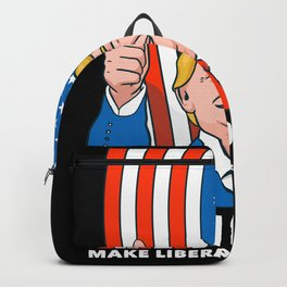 Funny Trump 2020 Supporter Gift Backpack