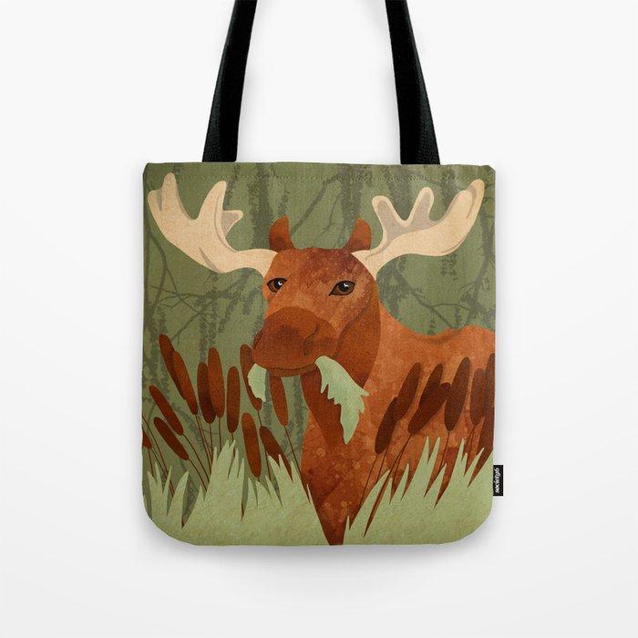 Moose Munch Tote Bag