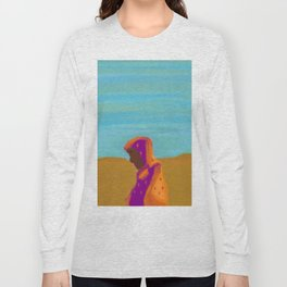 Sorrowful Mother of the Past and Present Long Sleeve T-shirt