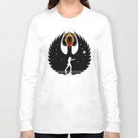 swan queen Long Sleeve T-shirts featuring Queen Swan by zerobriant