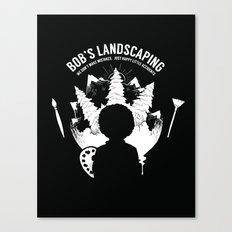 Bob's Landscaping Canvas Print