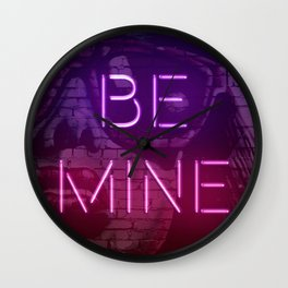 Be Mine Wall Clock
