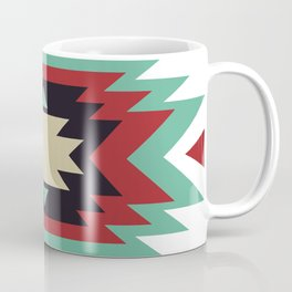 Geometric Abstract Tribal Indian Pattern Coffee Mug