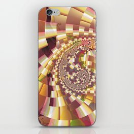 Fractal Quake iPhone Skin