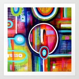Focus série 'TDAH' Art Print