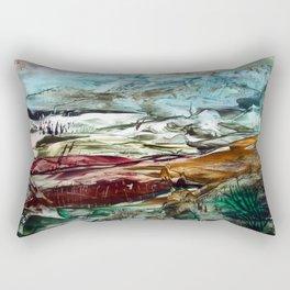Change of Seasons Rectangular Pillow