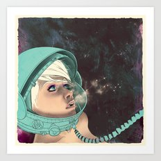Bodies in Space: Phase Change Art Print