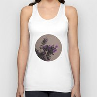 lavender Tank Tops featuring Lavender by tinaperko