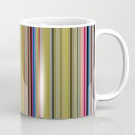 Colorful Stripes Barcode 1 Coffee Mug