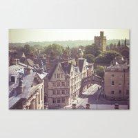 england Canvas Prints featuring Oxford England by AlejandraClick