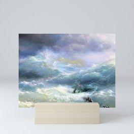 12,000pixel-500dpi - Ivan Aivazovsky - Wave - Digital Remastered Edition Mini Art Print