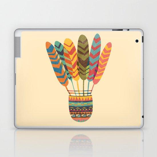 Rustic shuttlecock Laptop & iPad Skin