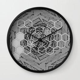 Honeycomb Portal Wall Clock