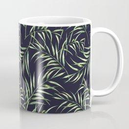Tropical palm pattern. Watercolor Coffee Mug