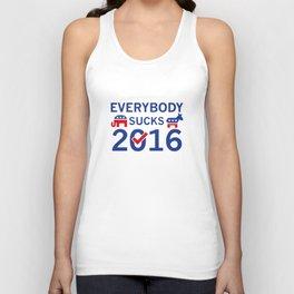 Everybody Sucks 2016 Unisex Tank Top
