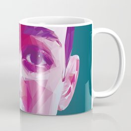 FKA Twigs Low Poly Collection Coffee Mug