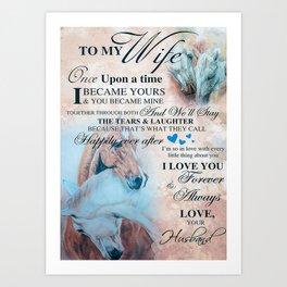 Animals Horse Art Print