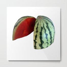 Watermelon Duo Metal Print