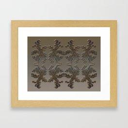 Kabul Ligneous Framed Art Print