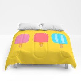 Ice Pops Yellow Comforters